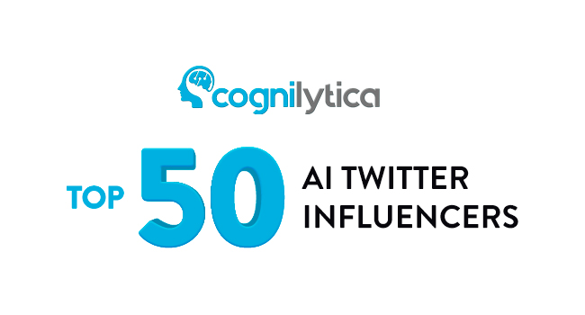 Cognilytica - Top 50 Influencer