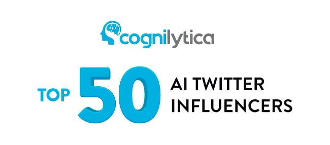 Cognilytica - Top 50 Influencer